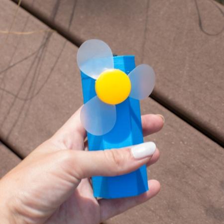 Ventilateur filament PLA Bleu ciel TiZYX