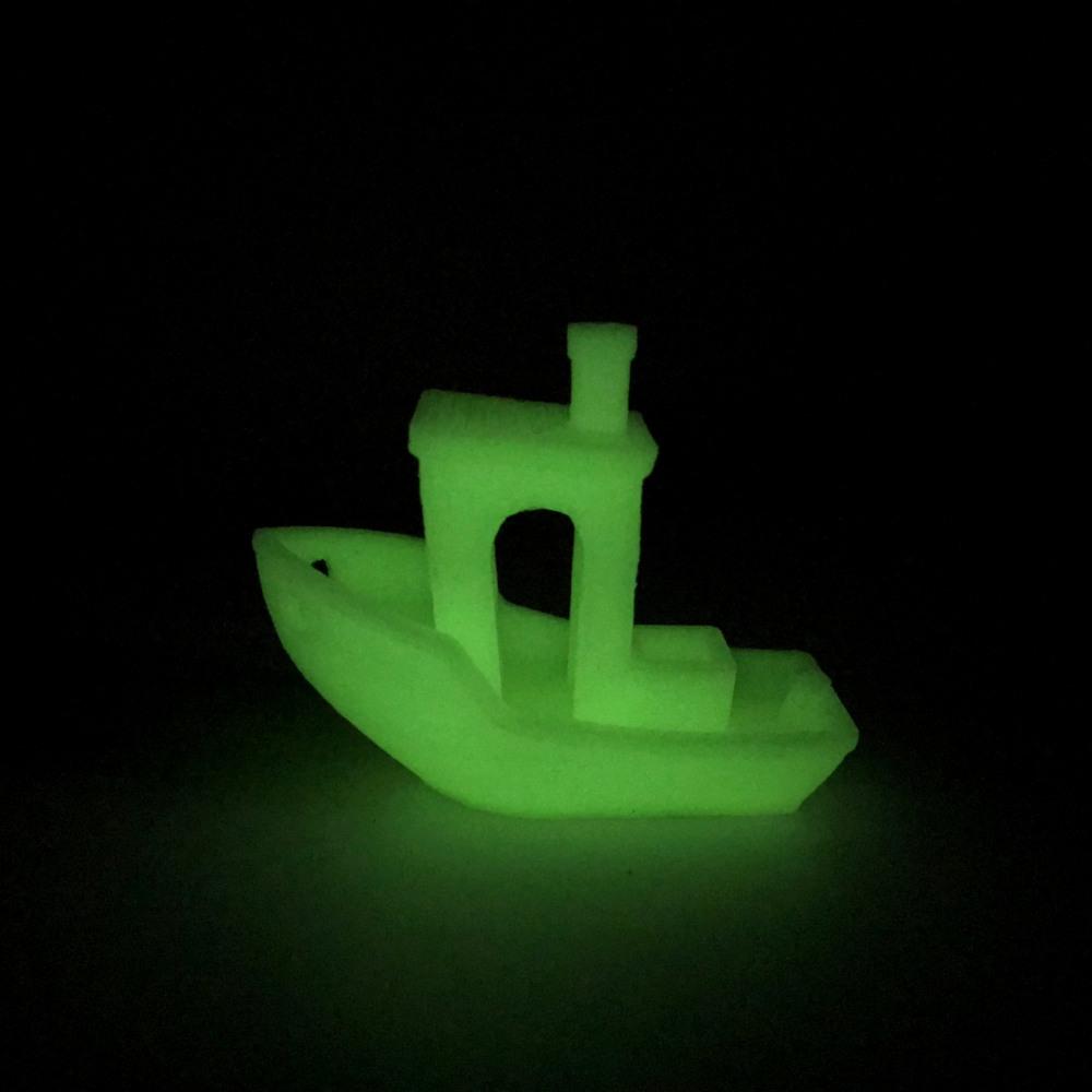 Filament PLA Vert Phosphorescent