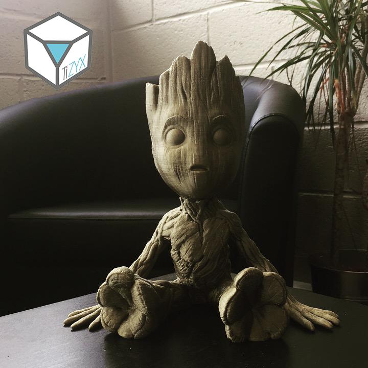 Impression 3D à la demande TiZYX