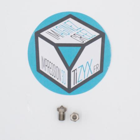 Buses inox imprimante 3D TiZYX k25