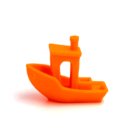 Filament PLA Orange Flashy