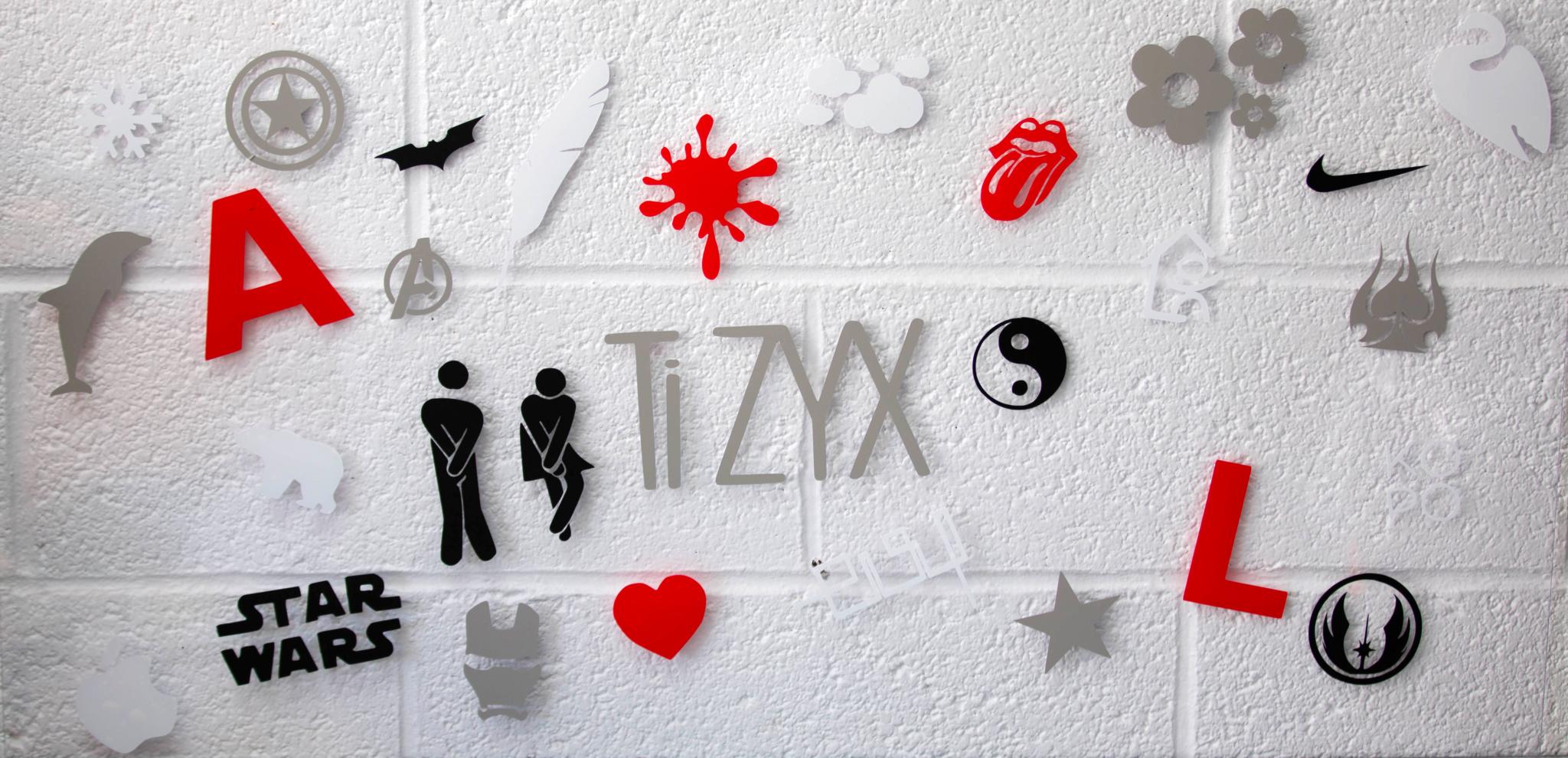 Stickers vinyle autocollant outil cutter imprimante 3D multifonctions EVY TiZYX