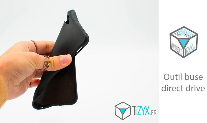 Outil buse direct drive imprimante 3D multifonctions EVY TiZYX