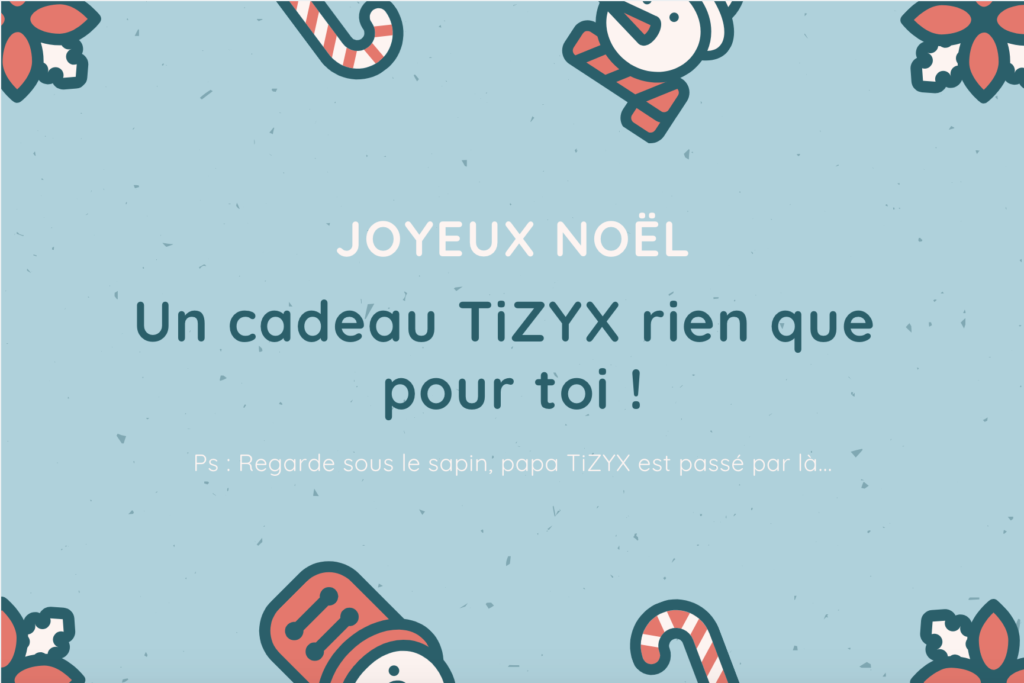 Bon cadeau TiZYX